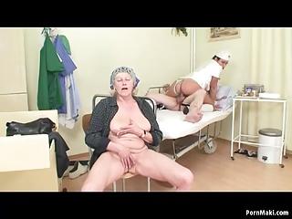 Hospital Granny Sex