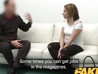 Casting couch fake Fake Casting
