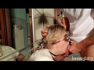 Sperm blasted facials